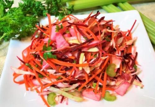Салат метёлка для похудения рецепт. Салат «Щетка» для очищения кишечника и похудения без диеты