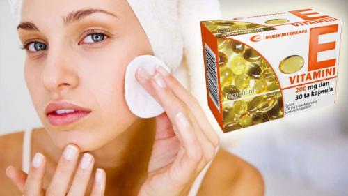 Можно ли витамин е мазать на лицо. Польза и вред