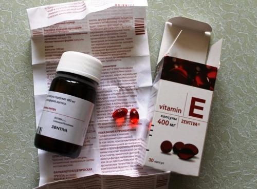 Витамин Е для лица в чистом виде. Как витамин Е воздействует на кожу?